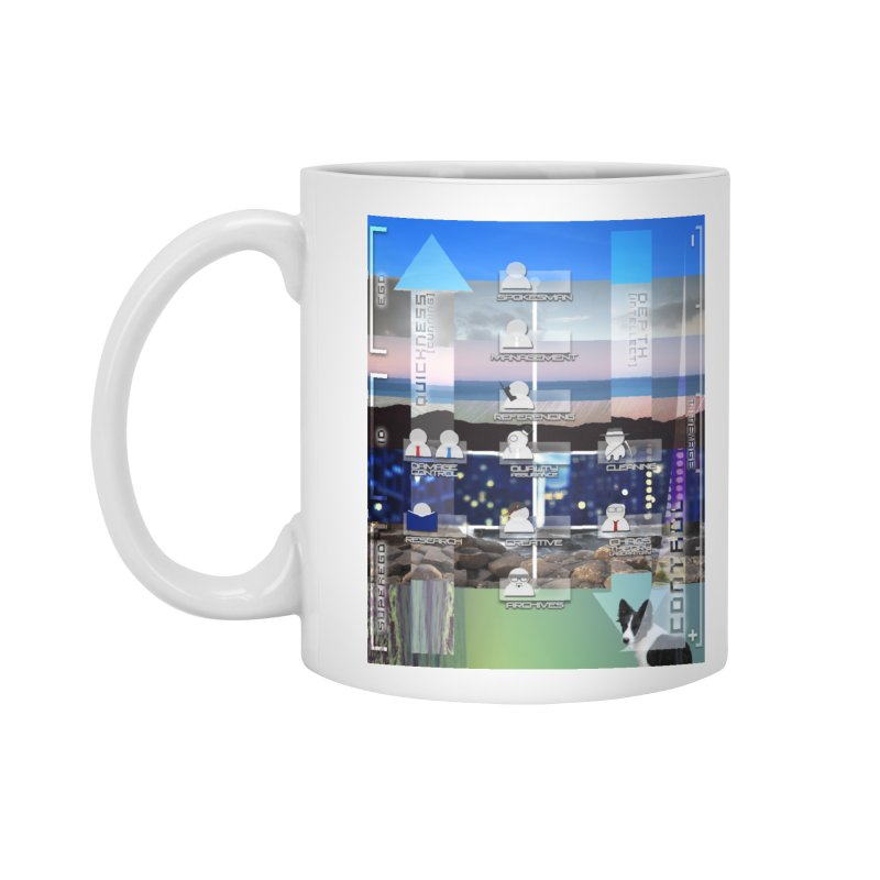 = Mind Factory = Accessories Standard Mug by Shadeprint's Artist Shop