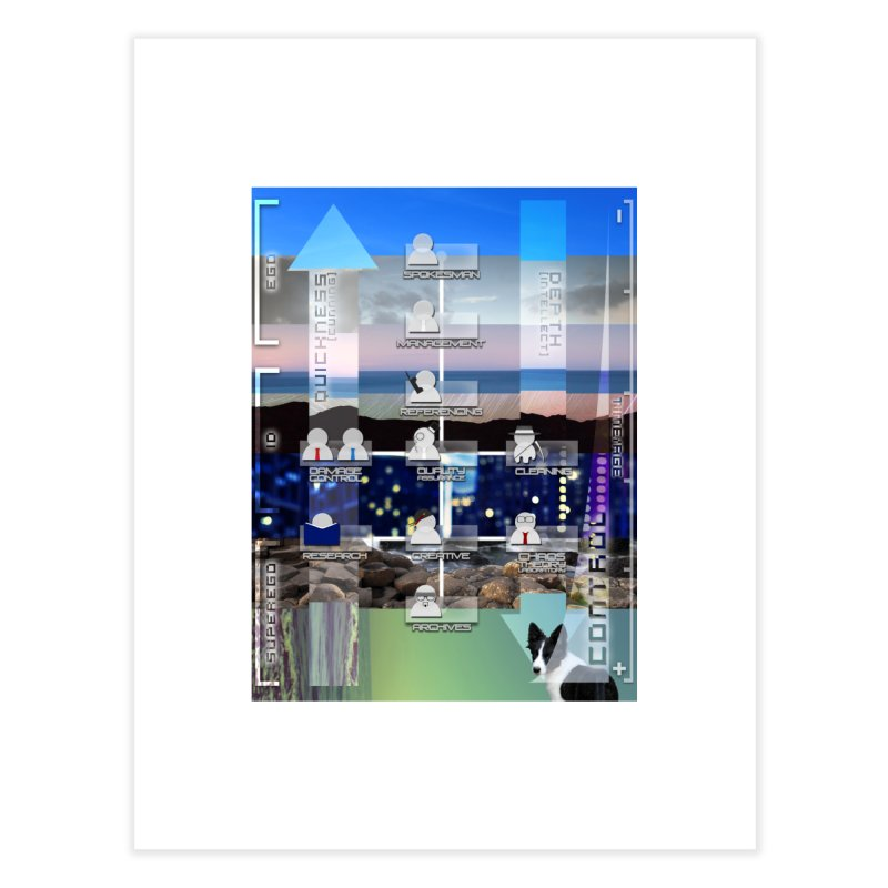 = Mind Factory = Home Fine Art Print by Shadeprint's Artist Shop