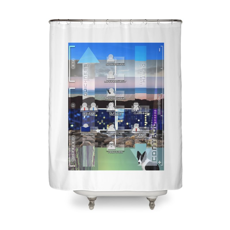 = Mind Factory = Home Shower Curtain by Shadeprint's Artist Shop