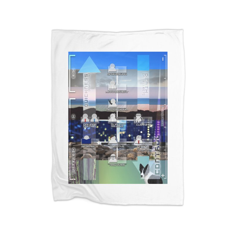 = Mind Factory = Home Fleece Blanket Blanket by Shadeprint's Artist Shop