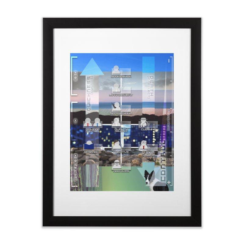 = Mind Factory = Home Framed Fine Art Print by Shadeprint's Artist Shop