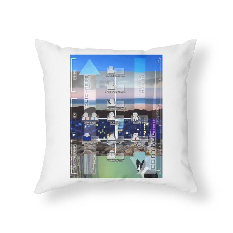 = Mind Factory = Home Throw Pillow by Shadeprint's Artist Shop