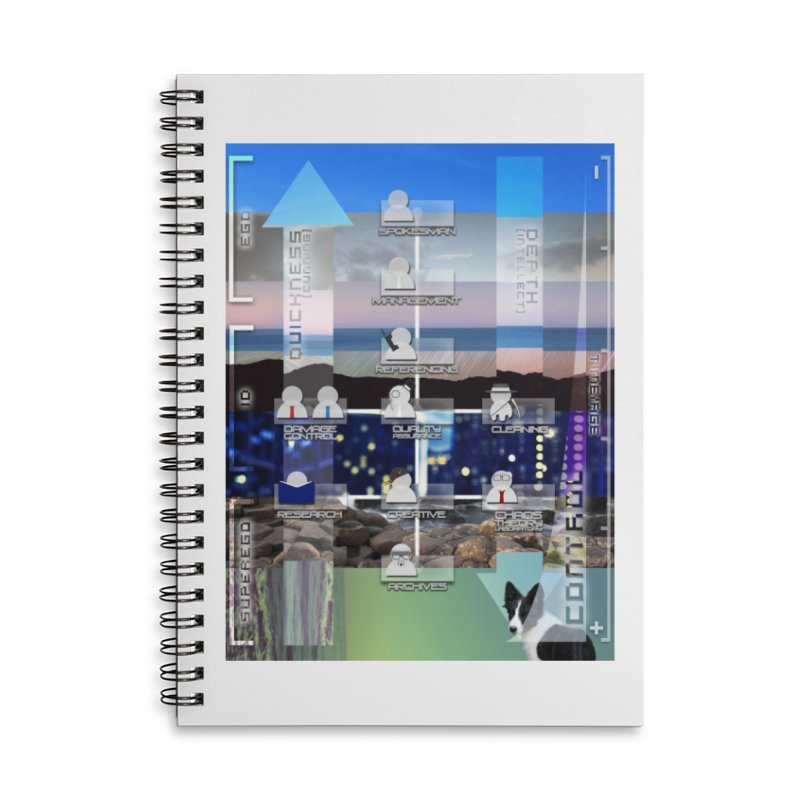 = Mind Factory = Accessories Lined Spiral Notebook by Shadeprint's Artist Shop