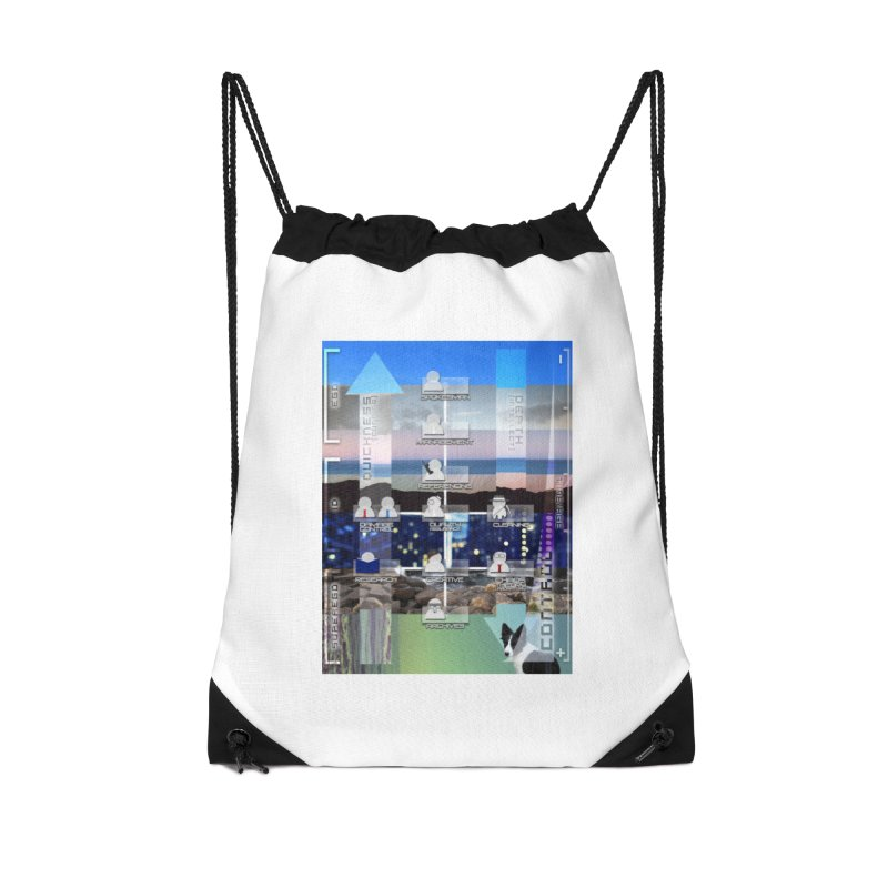 = Mind Factory = Accessories Drawstring Bag Bag by Shadeprint's Artist Shop