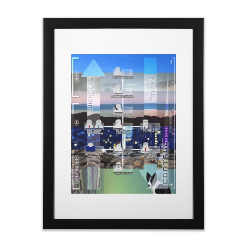 = Mind Factory = Home Framed Fine Art Print by Shadeprint's Artist Shop