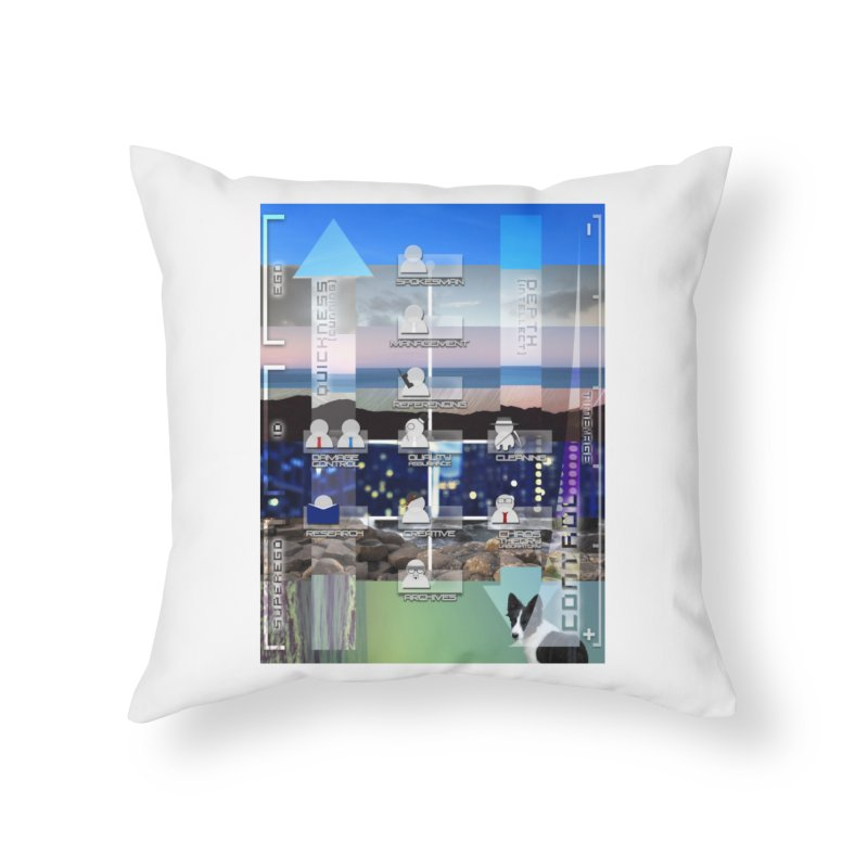 = Mind Factory = Home Throw Pillow by Shadeprint's Artist Shop
