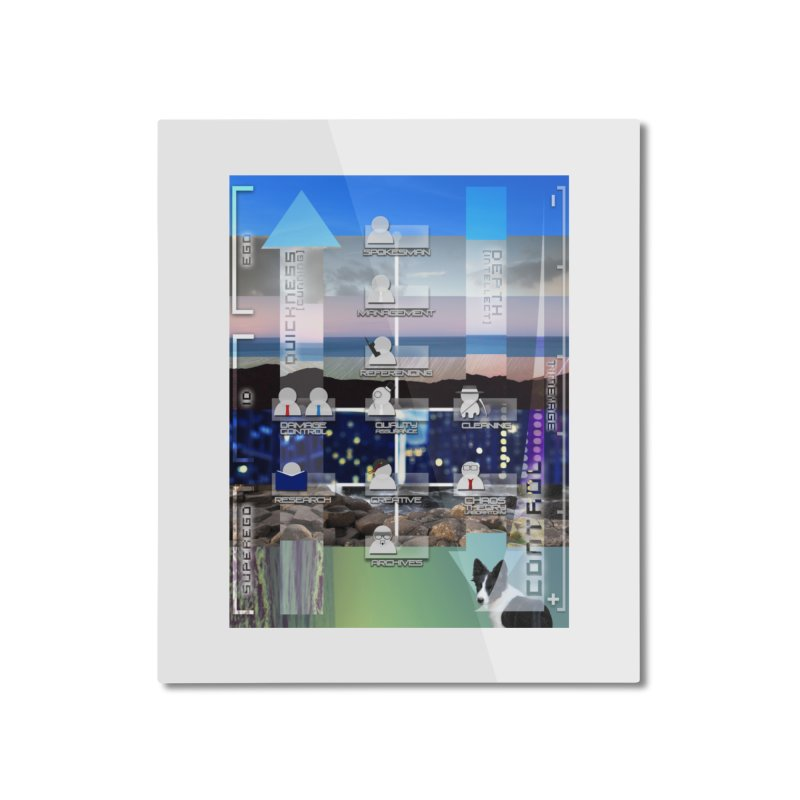= Mind Factory = Home Mounted Aluminum Print by Shadeprint's Artist Shop