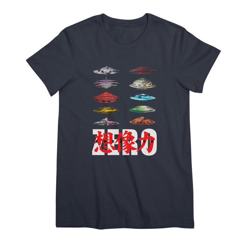 Drop Footage // Creative ZERO [aka ZERO Creative] Women's Premium T-Shirt by Shadeprint's Artist Shop