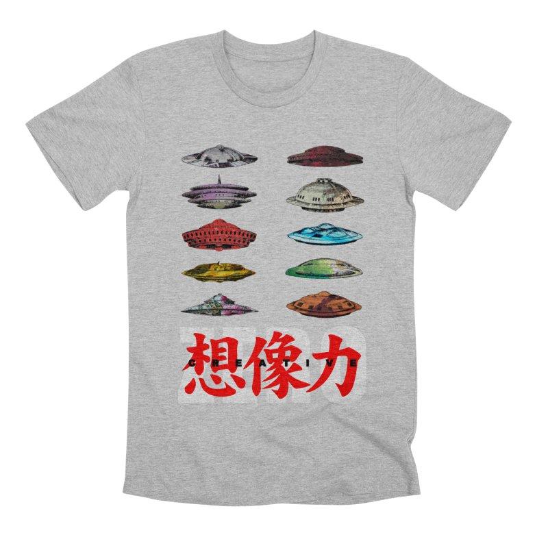 Drop Footage // Creative ZERO [aka ZERO Creative] Men's Premium T-Shirt by Shadeprint's Artist Shop