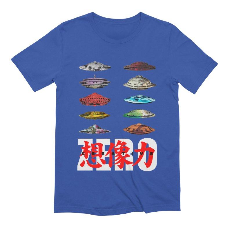 Drop Footage // Creative ZERO [aka ZERO Creative] Men's Extra Soft T-Shirt by Shadeprint's Artist Shop