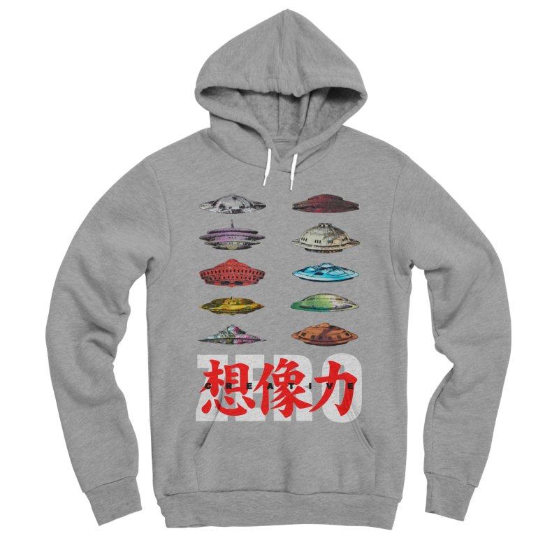 Drop Footage // Creative ZERO [aka ZERO Creative] Women's Sponge Fleece Pullover Hoody by Shadeprint's Artist Shop