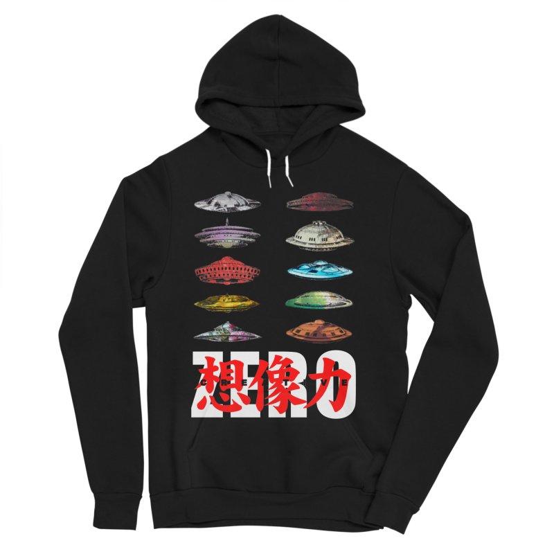Drop Footage // Creative ZERO [aka ZERO Creative] Women's Sponge Fleece Pullover Hoody by Shadeprint's Artist Shop