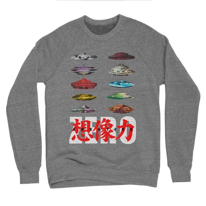 Drop Footage // Creative ZERO [aka ZERO Creative] Men's Sponge Fleece Sweatshirt by Shadeprint's Artist Shop