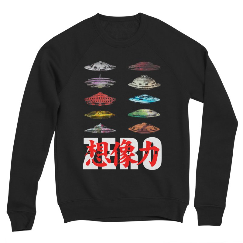 Drop Footage // Creative ZERO [aka ZERO Creative] Women's Sponge Fleece Sweatshirt by Shadeprint's Artist Shop