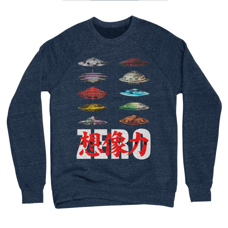 Drop Footage // Creative ZERO [aka ZERO Creative] Women's Sponge Fleece Sweatshirt by Shadeprint's Artist Shop