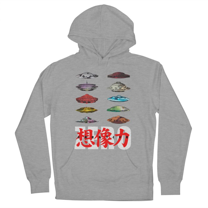 Drop Footage // Creative ZERO [aka ZERO Creative] Women's Pullover Hoody by Shadeprint's Artist Shop