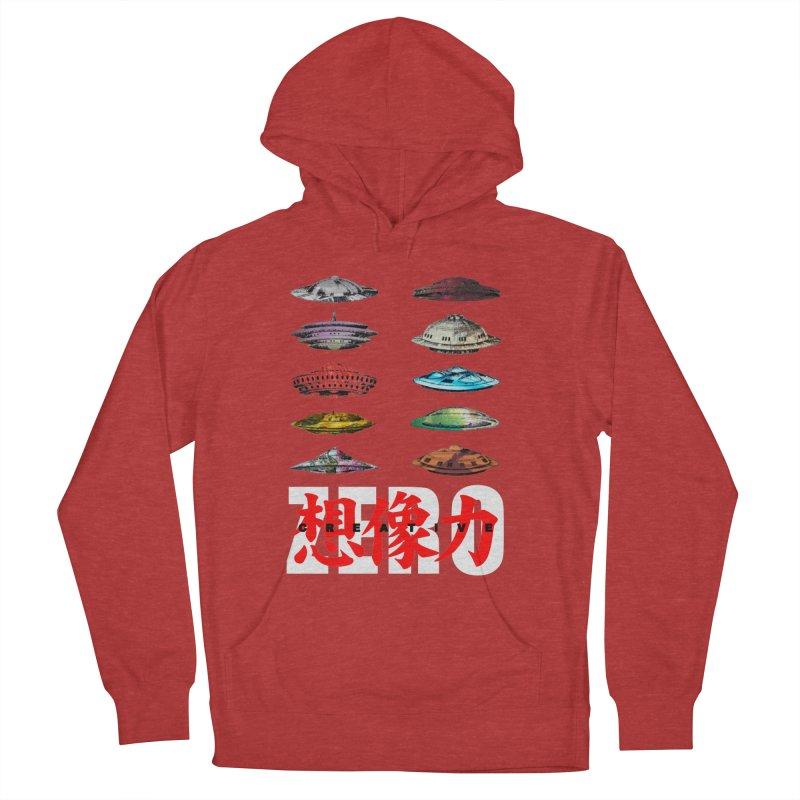 Drop Footage // Creative ZERO [aka ZERO Creative] Men's Pullover Hoody by Shadeprint's Artist Shop