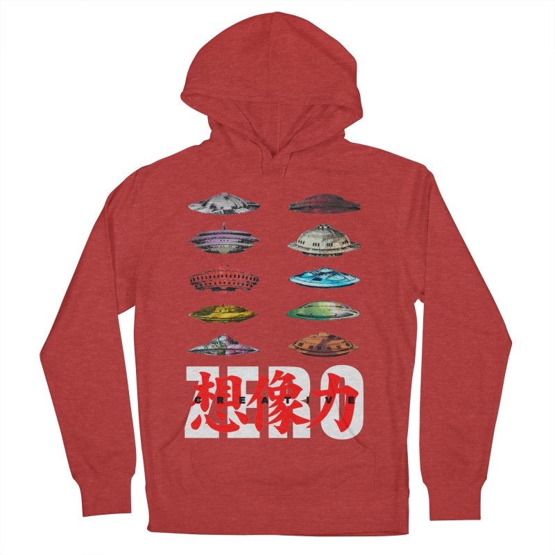 Drop Footage // Creative ZERO [aka ZERO Creative] Women's French Terry Pullover Hoody by Shadeprint's Artist Shop