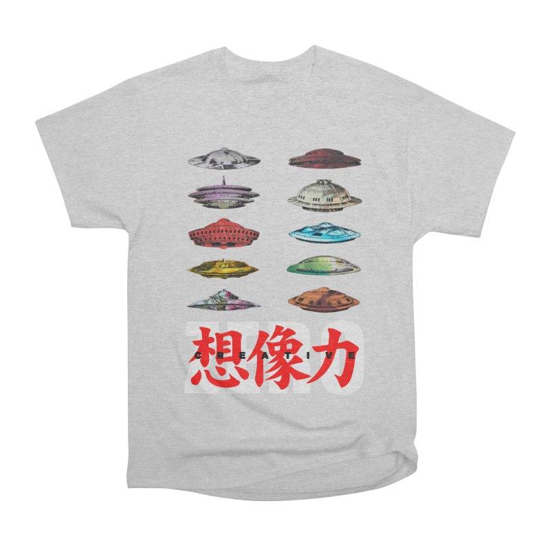 Drop Footage // Creative ZERO [aka ZERO Creative] Women's Heavyweight Unisex T-Shirt by Shadeprint's Artist Shop