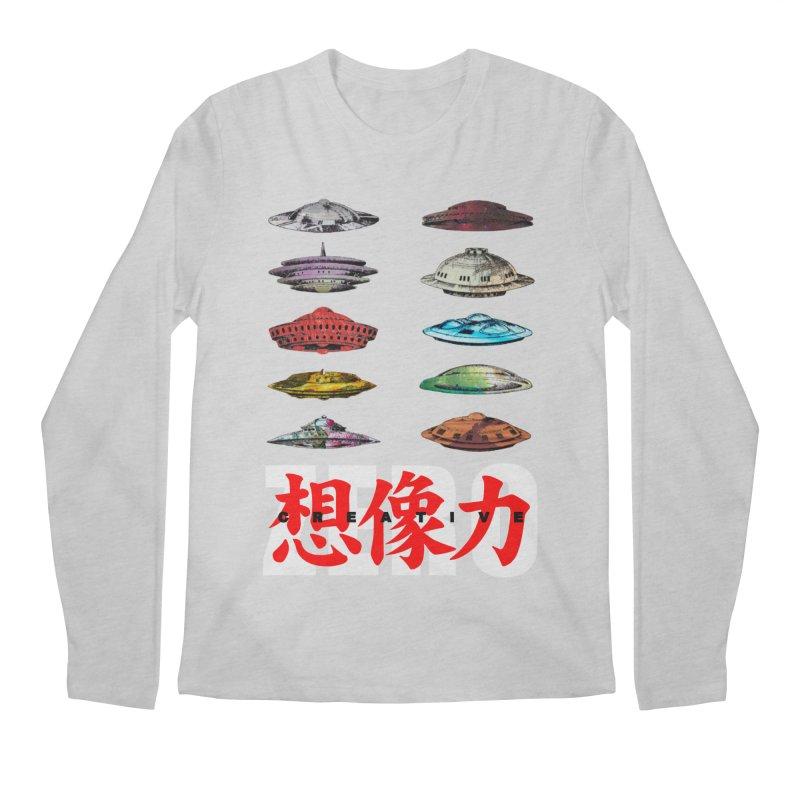 Drop Footage // Creative ZERO [aka ZERO Creative] Men's Regular Longsleeve T-Shirt by Shadeprint's Artist Shop