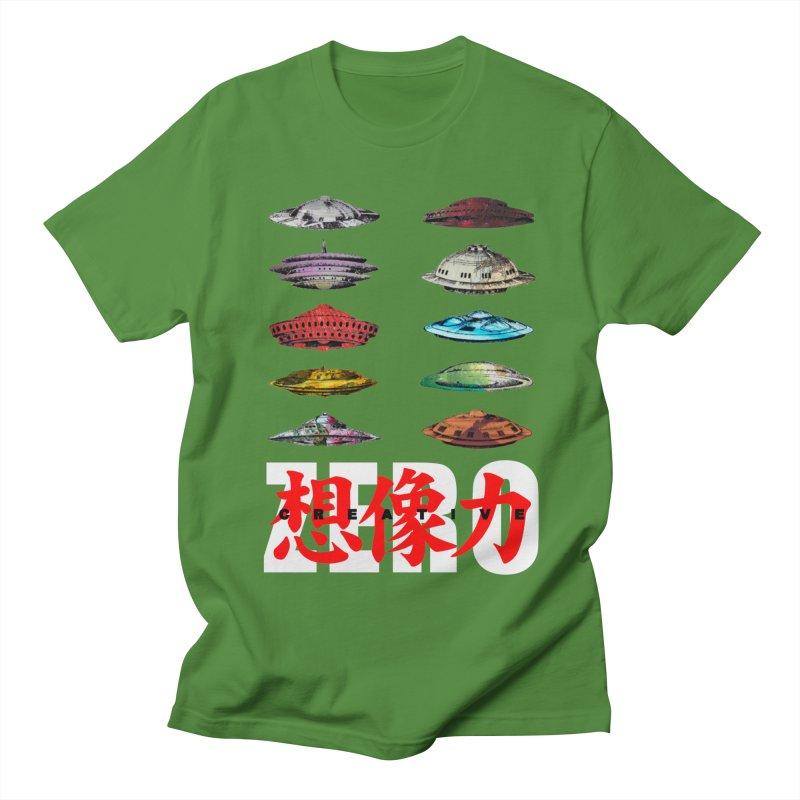 Drop Footage // Creative ZERO [aka ZERO Creative] Men's Regular T-Shirt by Shadeprint's Artist Shop