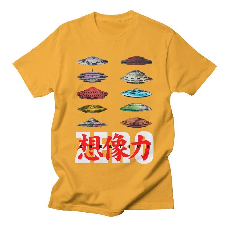 Drop Footage // Creative ZERO [aka ZERO Creative] Women's Regular Unisex T-Shirt by Shadeprint's Artist Shop