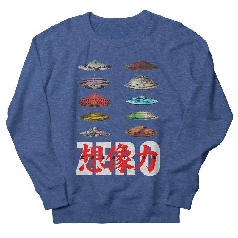 Drop Footage // Creative ZERO [aka ZERO Creative] Men's Sweatshirt by Shadeprint's Artist Shop