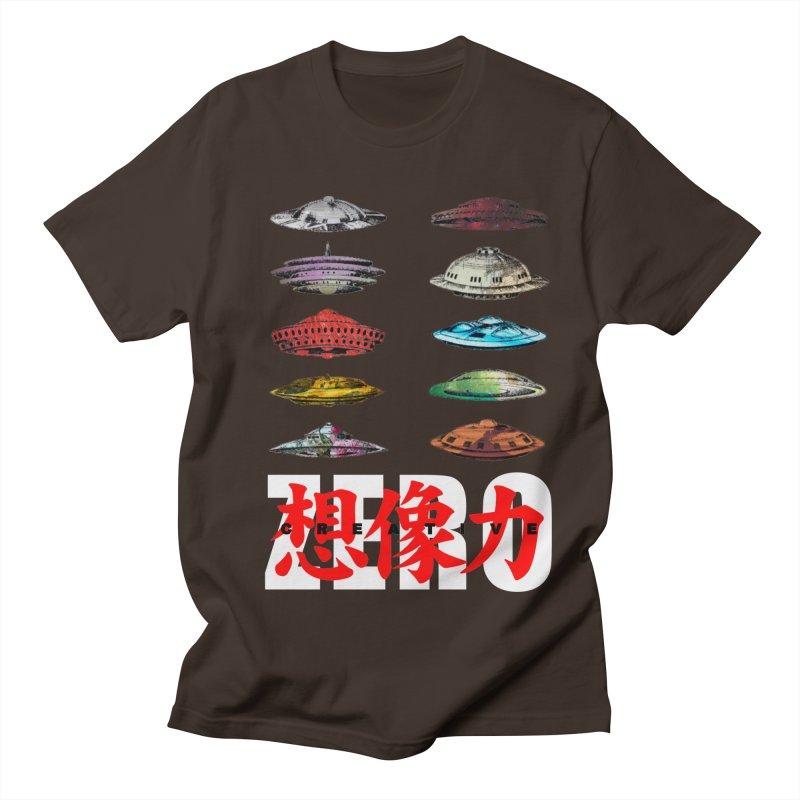 Drop Footage // Creative ZERO [aka ZERO Creative] Men's T-Shirt by Shadeprint's Artist Shop