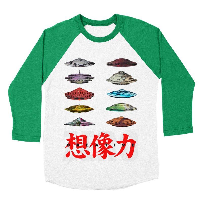 Drop Footage // Creative ZERO [aka ZERO Creative] Women's Baseball Triblend Longsleeve T-Shirt by Shadeprint's Artist Shop