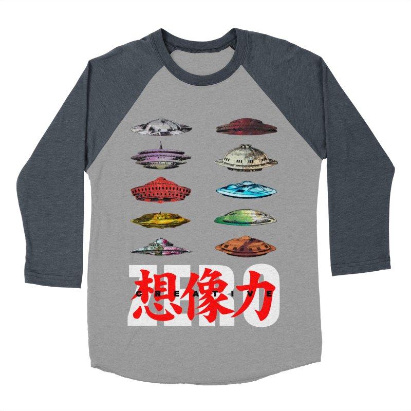 Drop Footage // Creative ZERO [aka ZERO Creative] Men's Baseball Triblend Longsleeve T-Shirt by Shadeprint's Artist Shop