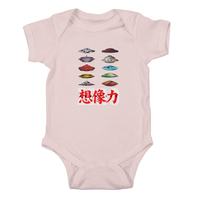 Drop Footage // Creative ZERO [aka ZERO Creative] Kids Baby Bodysuit by Shadeprint's Artist Shop