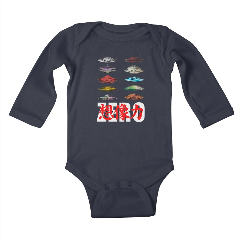 Drop Footage // Creative ZERO [aka ZERO Creative] Kids Baby Longsleeve Bodysuit by Shadeprint's Artist Shop