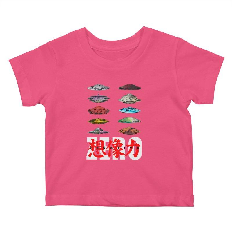 Drop Footage // Creative ZERO [aka ZERO Creative] Kids Baby T-Shirt by SHADEPRINT.DESIGN