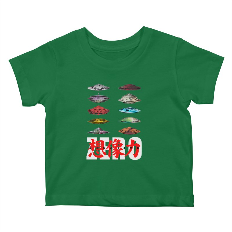 Drop Footage // Creative ZERO [aka ZERO Creative] Kids Baby T-Shirt by Shadeprint's Artist Shop