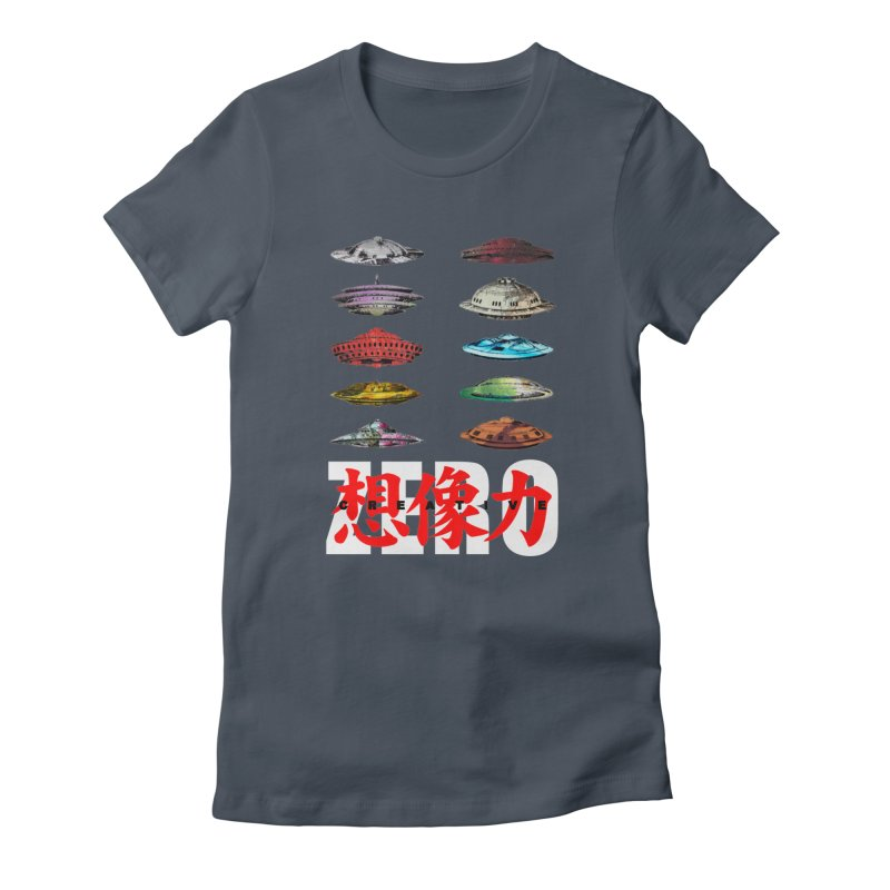 Drop Footage // Creative ZERO [aka ZERO Creative] Women's T-Shirt by SHADEPRINT.DESIGN