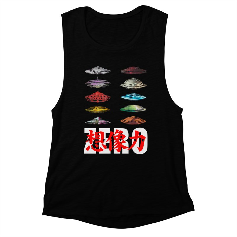 Drop Footage // Creative ZERO [aka ZERO Creative] Women's Muscle Tank by Shadeprint's Artist Shop