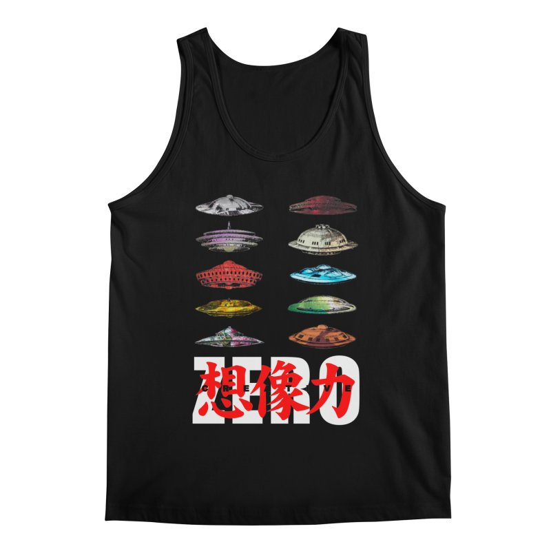 Drop Footage // Creative ZERO [aka ZERO Creative] Men's Regular Tank by Shadeprint's Artist Shop