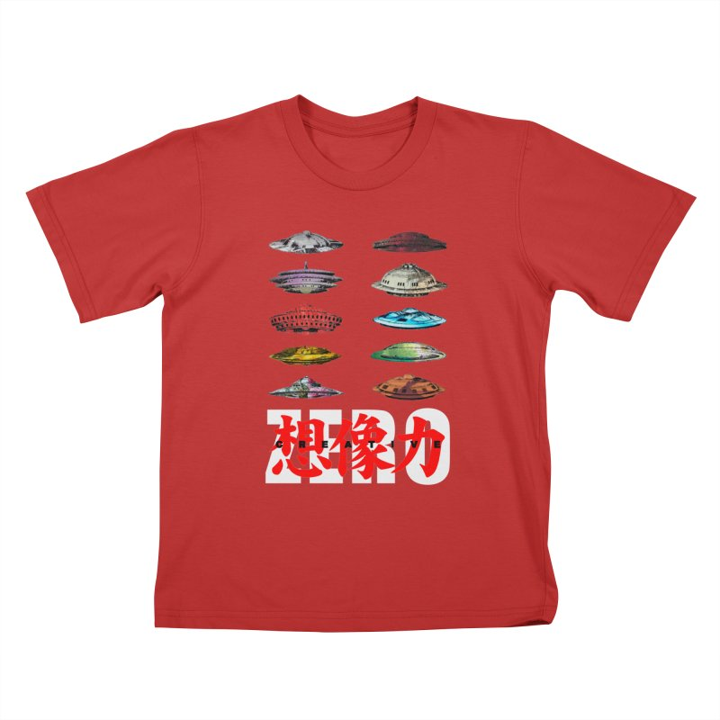 Drop Footage // Creative ZERO [aka ZERO Creative] Kids T-Shirt by Shadeprint's Artist Shop
