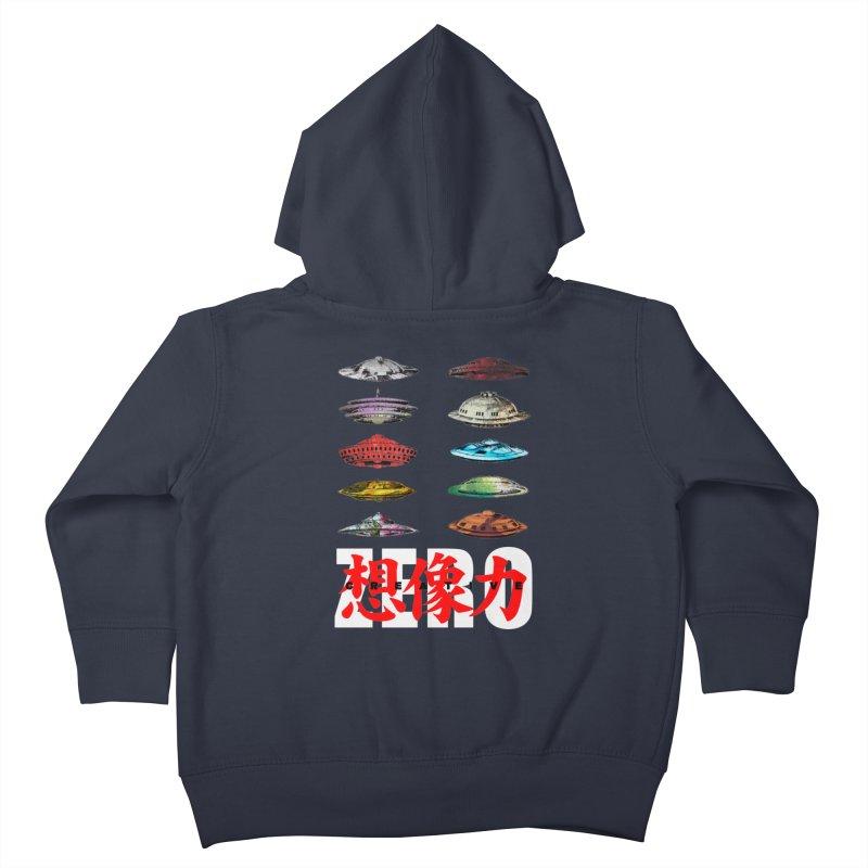 Drop Footage // Creative ZERO [aka ZERO Creative] Kids Toddler Zip-Up Hoody by Shadeprint's Artist Shop