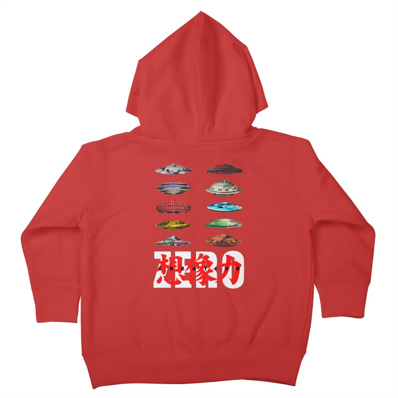 Drop Footage // Creative ZERO [aka ZERO Creative] Kids Toddler Zip-Up Hoody by Shadeprint's Artist Shop