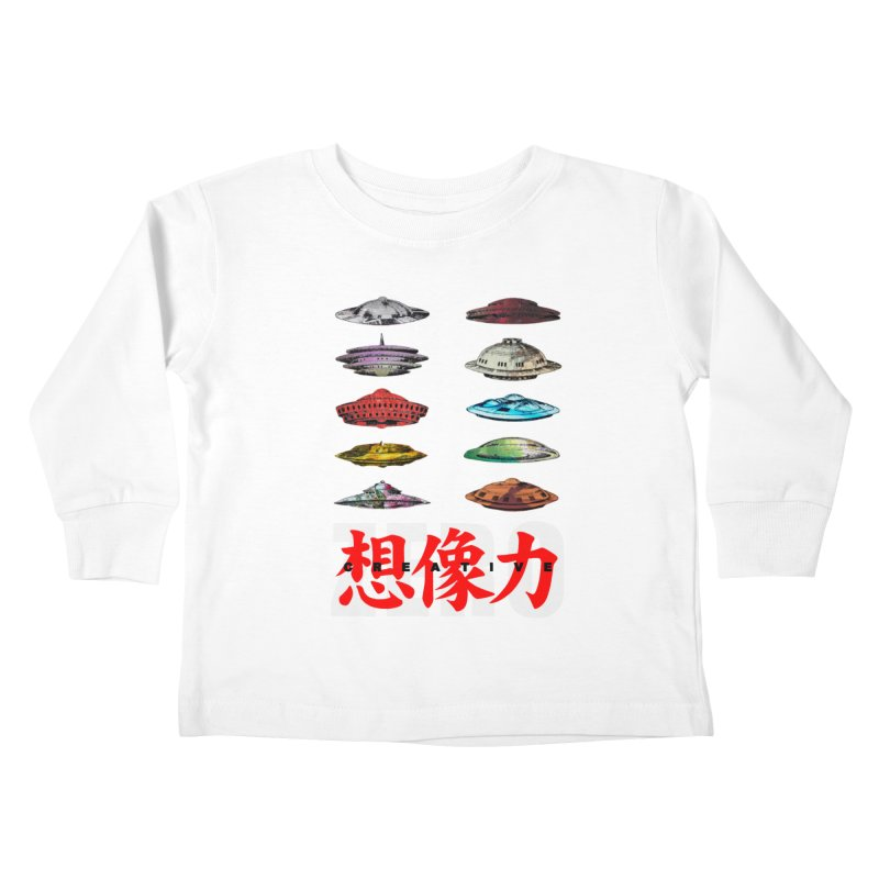 Drop Footage // Creative ZERO [aka ZERO Creative] Kids Toddler Longsleeve T-Shirt by Shadeprint's Artist Shop