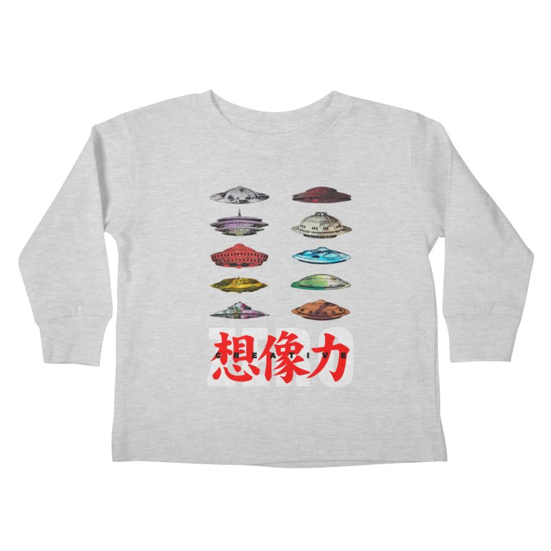 Drop Footage // Creative ZERO [aka ZERO Creative] Kids Toddler Longsleeve T-Shirt by Shadeprint's Artist Shop