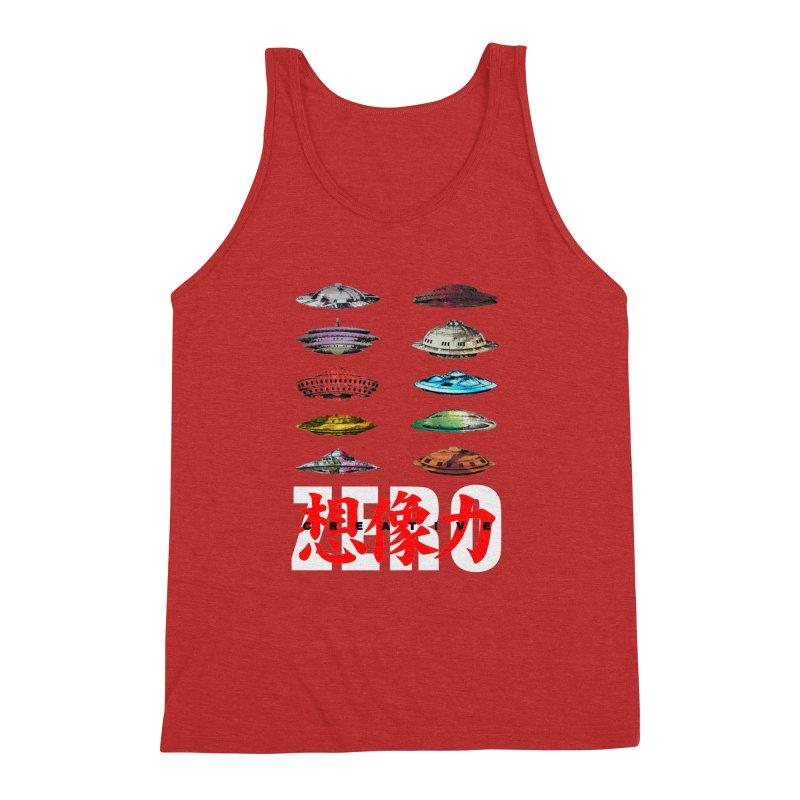 Drop Footage // Creative ZERO [aka ZERO Creative] Men's Triblend Tank by Shadeprint's Artist Shop