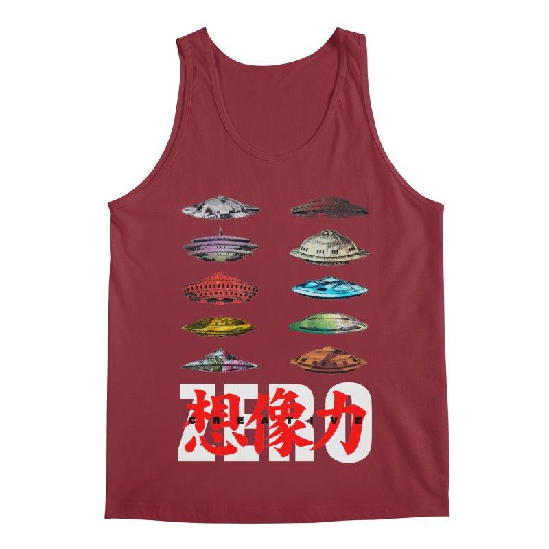 Drop Footage // Creative ZERO [aka ZERO Creative] Men's Tank by Shadeprint's Artist Shop