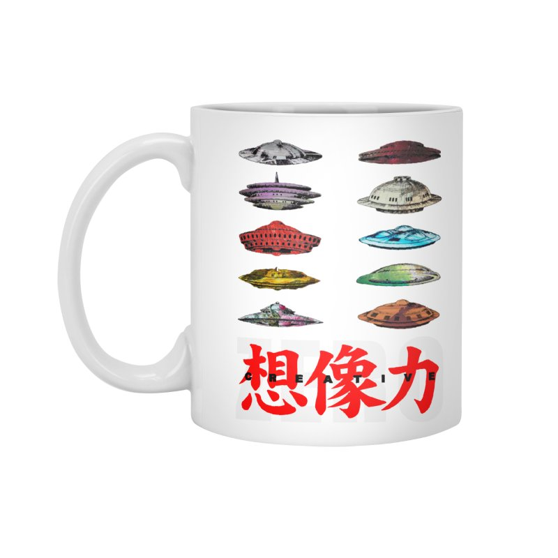 Drop Footage // Creative ZERO [aka ZERO Creative] Accessories Standard Mug by Shadeprint's Artist Shop