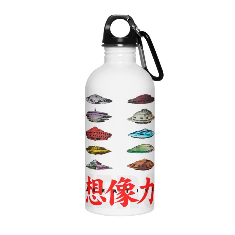Drop Footage // Creative ZERO [aka ZERO Creative] Accessories Water Bottle by Shadeprint's Artist Shop