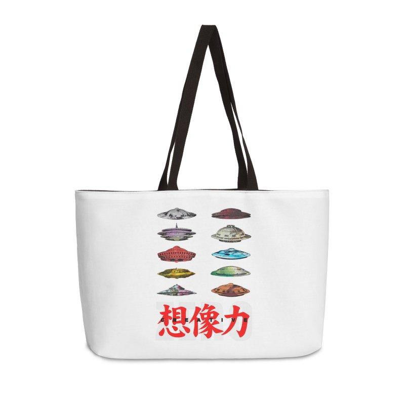 Drop Footage // Creative ZERO [aka ZERO Creative] Accessories Weekender Bag Bag by Shadeprint's Artist Shop