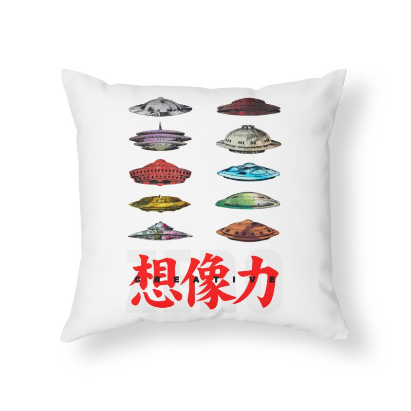 Drop Footage // Creative ZERO [aka ZERO Creative] Home Throw Pillow by Shadeprint's Artist Shop