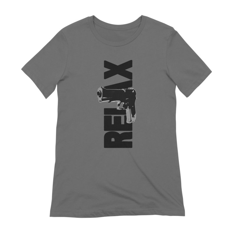 RE⅃AX Women's T-Shirt by Shadeprint's Artist Shop