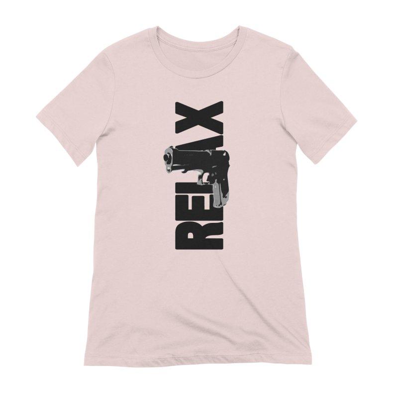 RE⅃AX Women's T-Shirt by Shadeprint's Artist Shop